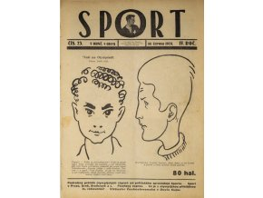 Časopis SPORT, č. 25, 1924 (1)