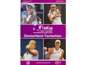 Program, Fed Cup , Deutschland Tschechien, 2012