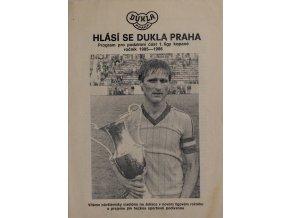 Program, Hlásí se Dukla, podzimní část 198586