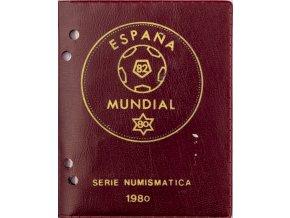 Sada oběžných mincí PESETAS, Espaňa, Mundial fotbal, 1982 II (2)