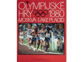 Kniha OH Moskva a Lake Placid, 1980