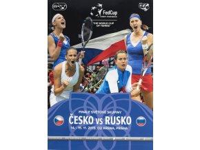 Program, Fed Cup , Česká republika v. Rusko, finále 2015