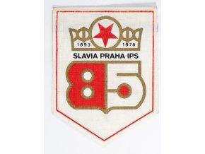 Klubová vlajka Slavia Praha IPS, 85 let fragmnet (2)
