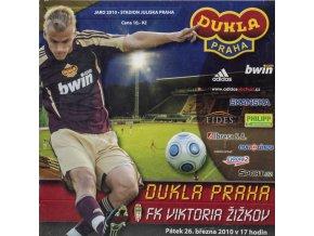 Dukla ZPRAVODAJ, FC Dukla Praha v. FK Viktoria Žižkov, 2010