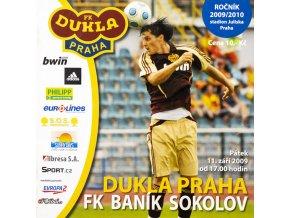 Program, FC Dukla Praha v. Baník Sokolov, 2009