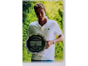 Podpisová karta, Wimbledon 2010, Tomáš Berdych, finalista