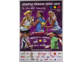 Oficiální plakát Sparta Prague Open 2012, autogramy (2)