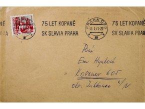 CELISTVOST 75 let kopané SK SLAVIA PRAHA I