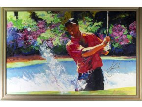 Obraz, Malcom Farley, Victory at the Masters, 2006 Autogram Tiger Woods (1)