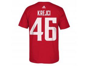 Team Czech Republic 2016 World Cup of Hockey Name & Number T-Shirt - David Krejci - Mens