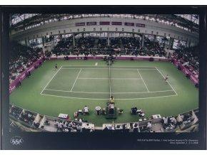 Velkoformátová fotografie, Fed Cup, ČR v. Slovensko, 2008