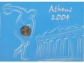 Pamětní mince 2 Euro, FDC, Athény, 2004 (3)