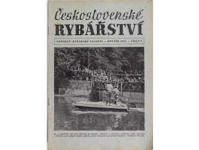 Časopis Československé Rybářství, 81957