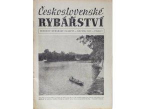 Časopis Československé Rybářství, 71957