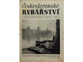 Časopis Československé Rybářství, 41957