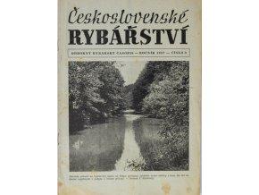 Časopis Československé Rybářství, 51957