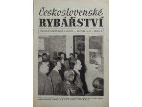 Časopis Československé Rybářství, 31957