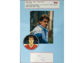 Podpisová karta, Petr Rosol, lední hokej