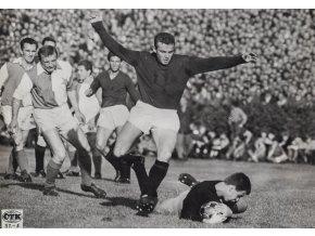 Fotografie ČTK, Sparta v. Slavia, 1966