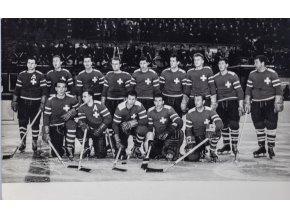 Dobová fotografie, Swiss hockey team (1)