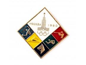 Odznak Olympic, Moscow, 1980 velký