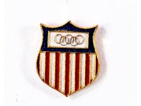 Odznak smalt Olympic, US team