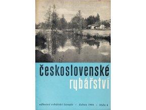 Časopis Československé Rybářství, 41961