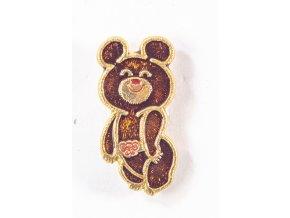 Odznak XXII. OH 1980, Moskva, maskot IV