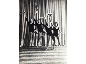 Fotografie velká , Moderní gymnastika