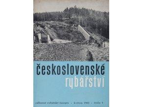 Časopis Československé Rybářství, 51961