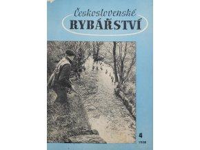 Časopis Československé Rybářství, 41958