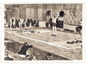 Kartička Olympia 1952, Helsinky, Udodov (1)