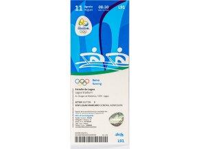 Vstupenka OG Rio 2016, Rowing