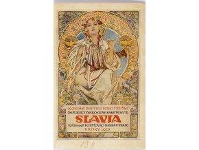 Slavia reklama pojišťovna Slavia, 1928