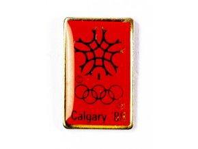 Odznak Olympic, Calgary, 1988
