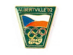 Odznak Olympic, Albertville, 1992