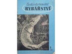 Časopis Československé Rybářství, 21958