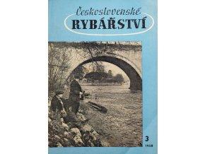 Časopis Československé Rybářství, 31958