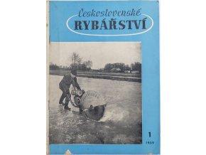 Časopis Československé Rybářství, 11959