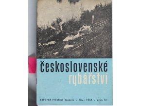 Časopis Československé Rybářství, 101960