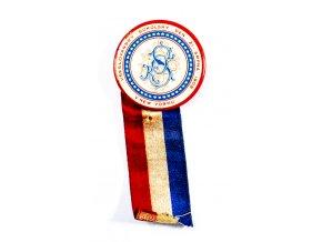 Odznak placka Sokolský den v New Yorku, 1909 (1)