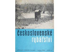 Časopis Československé Rybářství, 11960