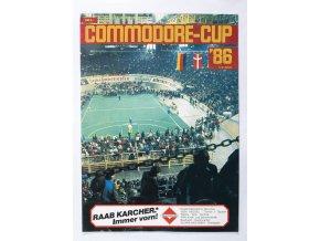 Program , Commodore cup, Slavia Prag, 1986 (1)