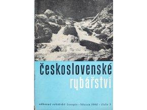 Časopis Československé Rybářství, 31960