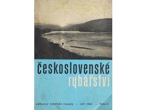Časopis Československé Rybářství, 91960