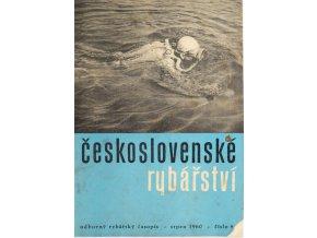 Časopis Československé Rybářství, 81960