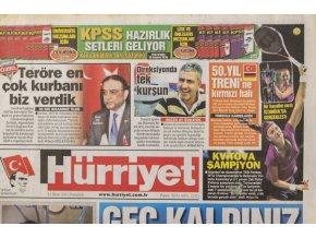 Noviny, Hurriyet, Sport, 2011, Kvitová