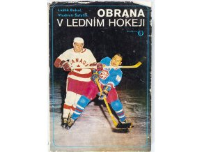 Kniha Obrana v ledním hokeji