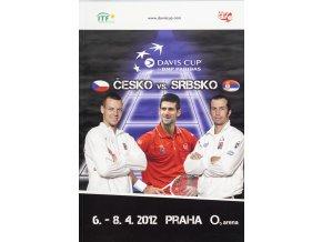Program, Davis Cup , Česká republika v. Srbsko, finále 2012