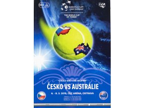 Program, Davis Cup , Česká republika v. Austrálie, 2015